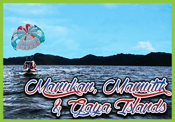 Manukan, Mamutik & Gaya Islands